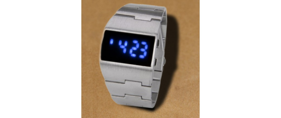 Silver Iron Watch