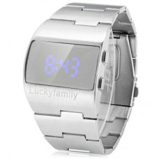 G1230 Popular LED Sports Watch in silver