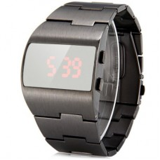 G1230 Popular LED Sports Watch in gun metal grey